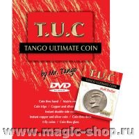 Tango Ultimate Coin (T.U.C) Half dollar with instructional DVD by Tango
